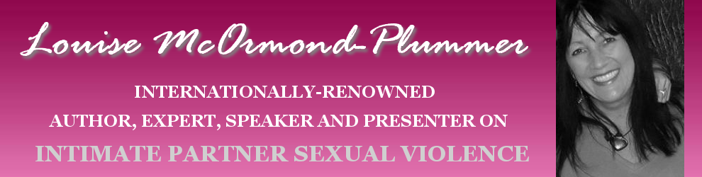Louise McOrmond-Plummer, author and expert on Intimate Partner Sexual Violence